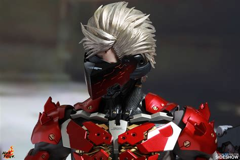 Toys Ht Metal Gear Rising Raiden Special Edition metal gear raiden inferno armor version sixth scale figure