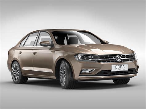 Volkswagen Bora 2016 3d Model Max Obj 3ds Fbx C4d Ma Mb