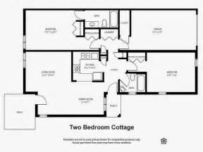 two bedroom cottage floor plans small 2 bedroom cottage plans ayanahouse