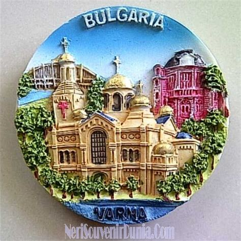 jual souvenir magnet kulkas varna bulgaria