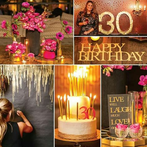 30th Birthday Decorations For by 30th Birthday Theme Ideas Fiestas