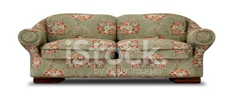 floral sofa floral sofa front stock photos freeimages