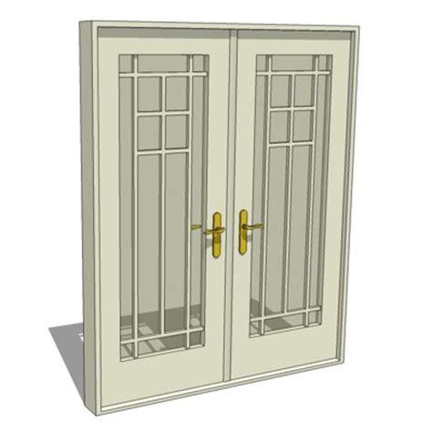 pattern 70 french doors doors autocad 3d wooden door 3d dwg type free
