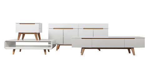 Scandinav meuble tv scandinave blanc brillant et fr 234 ne 180cm melka