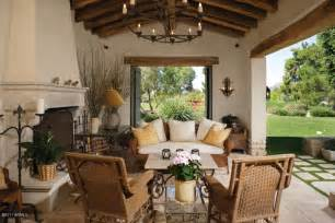 spanish style outdoor patios