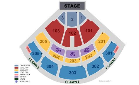 nissan pavilion seating chart jiffy lube live seating chart with seat numbers jiffy