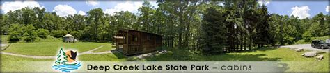 New Germany State Park Cabins by Creek Discoveries Interactive Tours Of