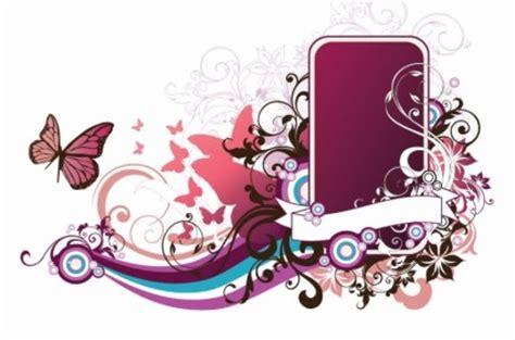 wallpaper bingkai abstrak bingkai floral vector abstrak vector floral vektor gratis