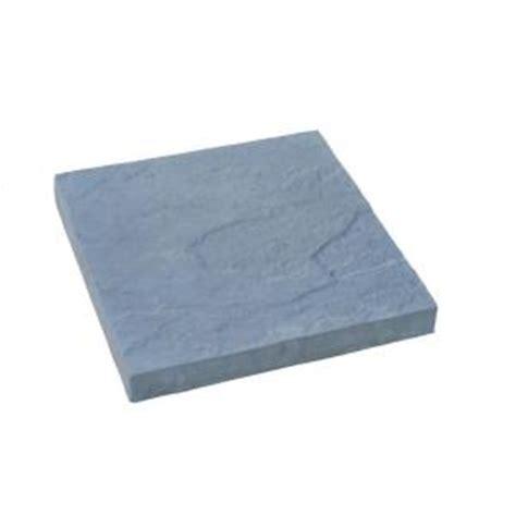 home depot concrete patio blocks nantucket pavers 12 ft x 12 ft concrete gray traditional