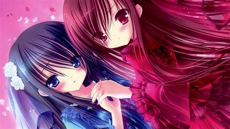 wallpaper hd beautiful anime beautiful anime sisters hd wallpaper stylishhdwallpapers