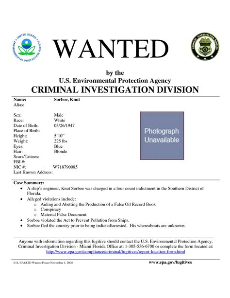 most wanted template poster fbi most wanted poster template