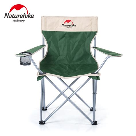 portable armchair outdoor folding stool steel pipe oxford back rest chair