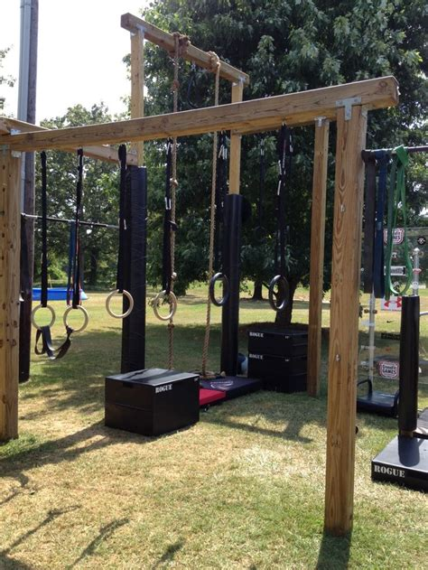 backyard gym equipment 136 best diy outdoor gym inspiration images on pinterest