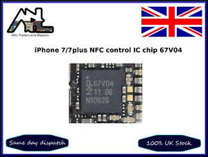 iphone 7 7plus nfc ic chip 67v04 motherboard repair part ebay