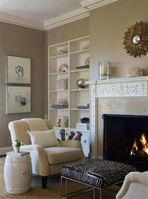 Design For Latte Paint Color Ideas Zebra Ottoman Transitional Living Room Benjamin Dhong