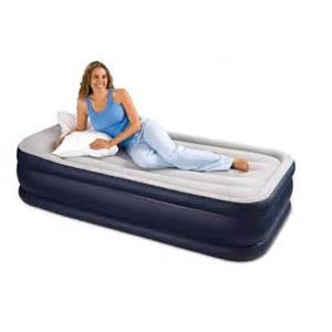 buy intex deluxe pillow rest airbed raised air