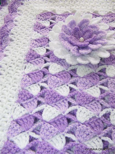 crochet pattern x s and o s crochet baby blanket pattern beautiful lilac baby blanket