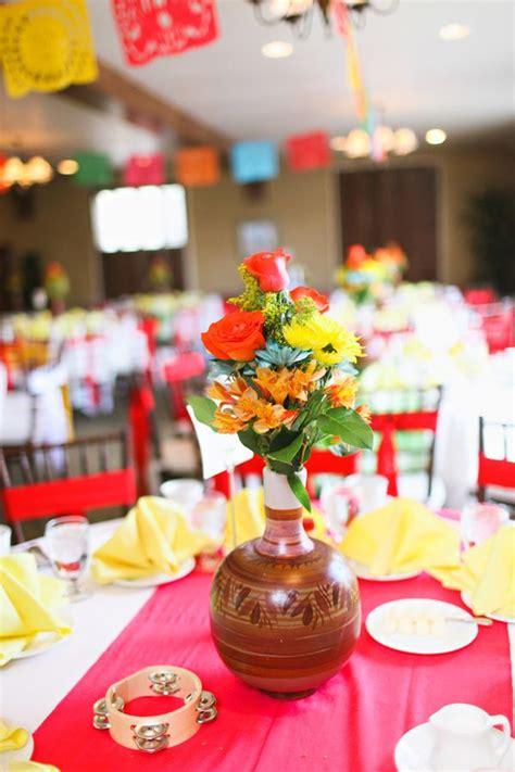 mexican centerpiece ideas  pinterest fiesta