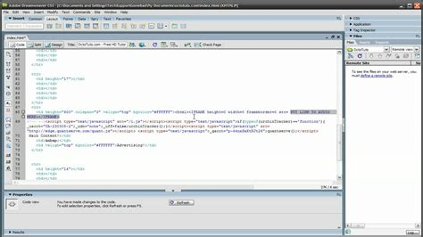 dreamweaver tutorial on youtube dreamweaver tutorial adding background music to your