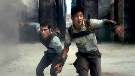 ending film maze runner 2 quot run quot the maze runner movie clip youtube