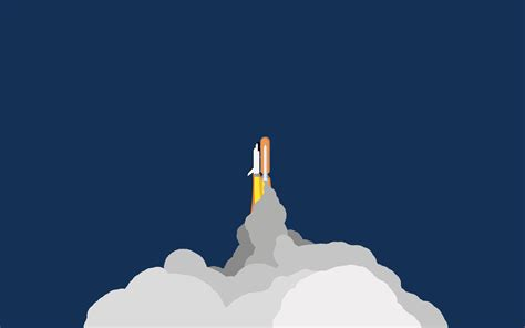 minimalist space space shuttle minimalistic wallpaper 2880x1800 by apple