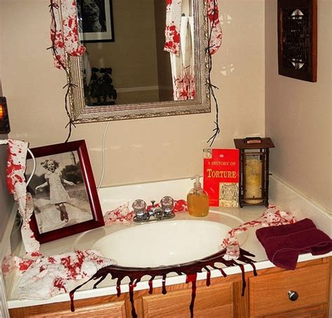 ideas for bathroom decoration decorations bathroom to scare away your guests