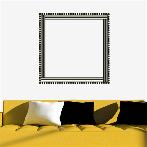 picture frame stickers for wall bead frame house decorative wall decal wall stickers transfers ebay
