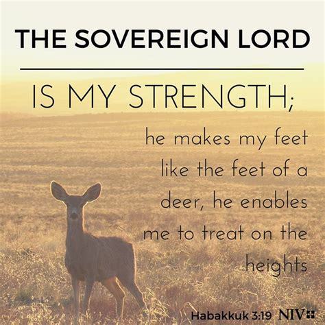 the sovereign lord is my strength courage pinterest