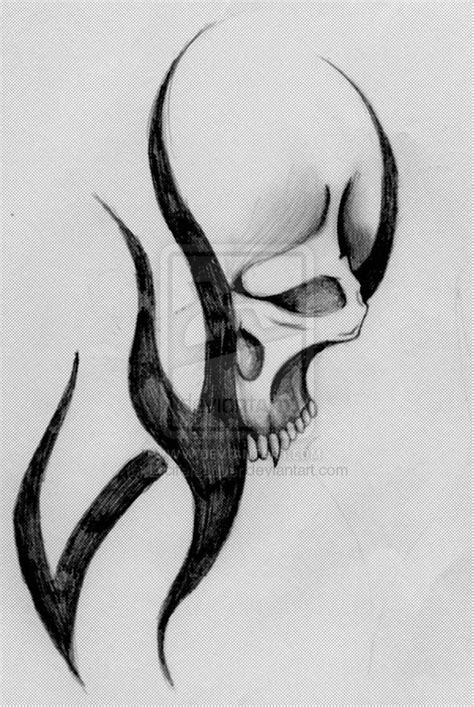 tattoo easy sketch tattoo drawings of skulls skull tattoo by