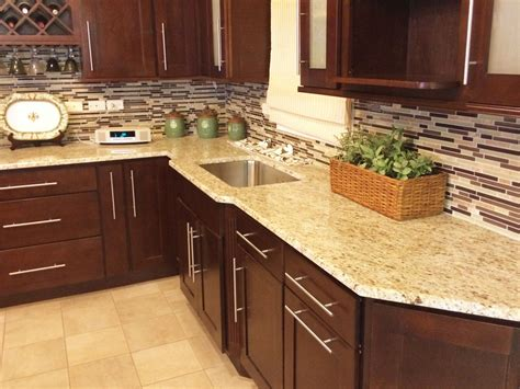 River Rock Bathroom Ideas by Giallo Ornamental Granite Countertops Design Ideas