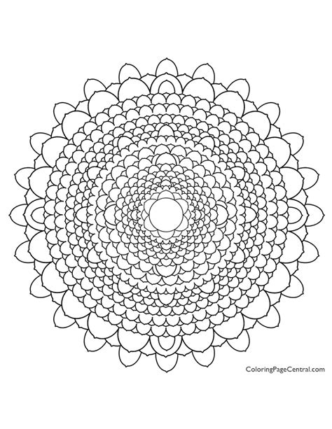 excellent mandala u circle coloring page with circle