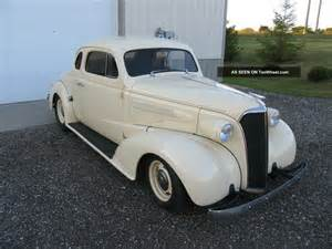 1937 chevrolet master business coupe