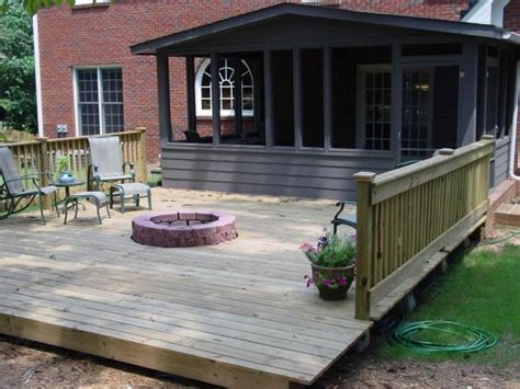 can you put pit on wood deck wood deck with pit pit wood deck protection deck design
