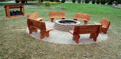 outdoor fire pit benches arrowhead freshman earns eagle scout status by building