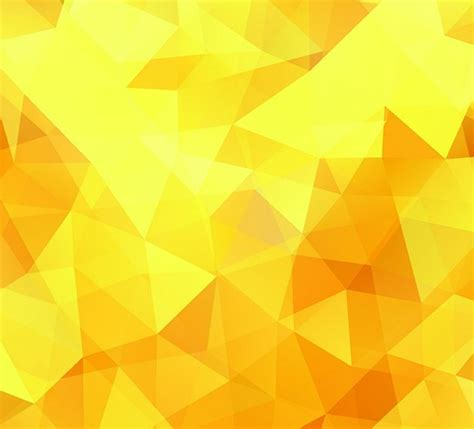 abstract yellow technology pattern background photoshop free bright yellow polygon background vector titanui