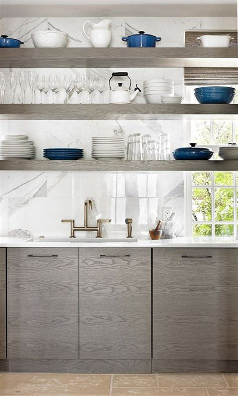 open shelf kitchen cabinets 10 kitchens with open shelving house mix