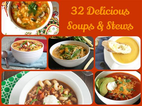 comfort soups and stews 32 delicious soups stews