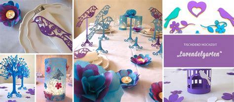 Lila Tischdeko Hochzeit by Tischdeko Hochzeit Lila T 252 Rkis Lavendelgarten