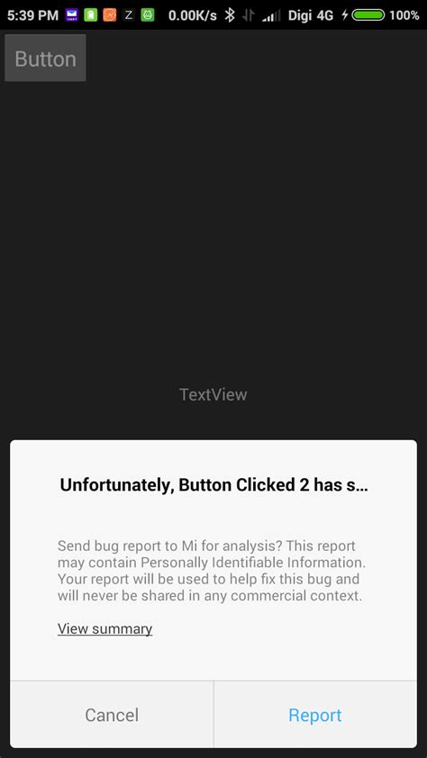 android layout onclick not working java very simple onclick android app not working stack