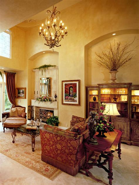 Tuscan Inspired Living Room | 15 awesome tuscan living room ideas