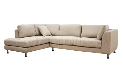 twill fabric modern sectional sofa sterling