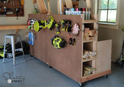 diy garage storage garage organization diy lumber cart shanty 2 chic