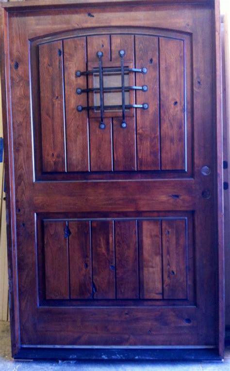 48 exterior door front entry door 48 x 80 rustic world knotty alder