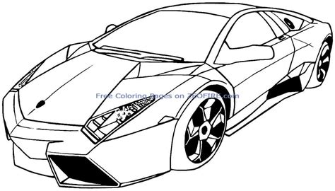Sports Car Coloring Page Sports Car Coloring Pages 15438 Bestofcoloring Com