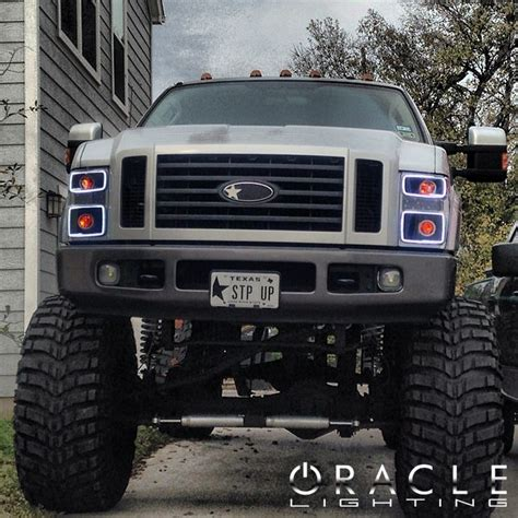 Ford Lights by Oracle Halo Lights For Ford F 250 F 350 Superduty 2008