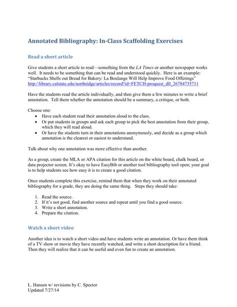 apa format dvd annotated bibliography citing movies