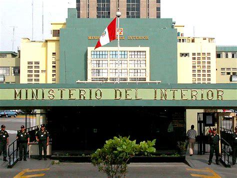 ministerio del interior policia nacional ministerio del interior lamenta la muerte de suboficial