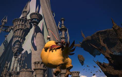 ffxiv heavensward pax east 2015 flying mounts youtube heavensward fat chocobos will fly gamer escape