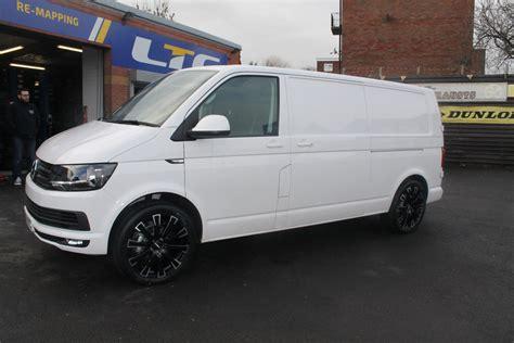 volkswagen van wheels t6 van fitted with calibre manhattan 20 quot alloy wheels