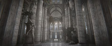 model  gothic castle cgtrader
